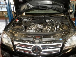 Mercedes Diesel Engine. Turbocharger failure and Oil cooler leak repairs