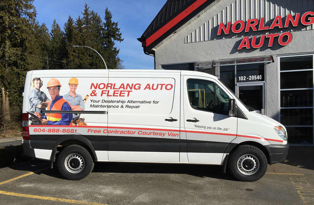 Sprinter Van Repair & Service | Norlang Auto Repair Langley